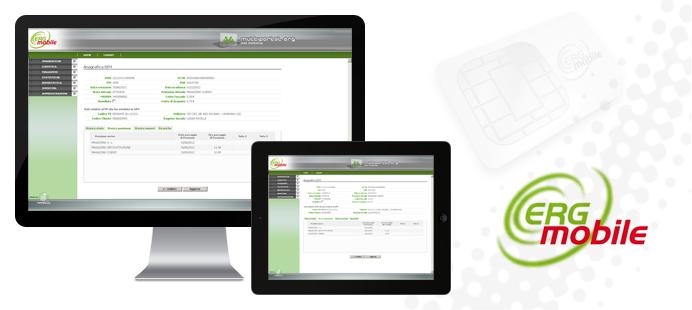 WEB: Portale ERG Mobile