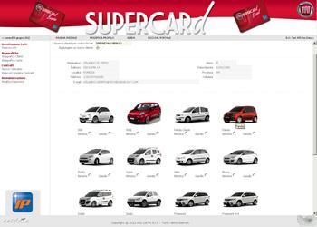 RES DATA per FIAT IP SUPERCARD